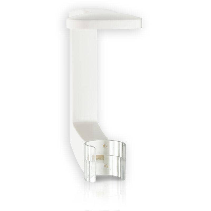 press + wash - Cliphalterung in Weiß, zum Kleben