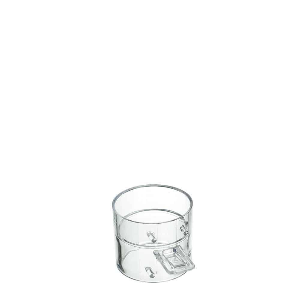 press + wash - Hülse, transparent (20 St.)
