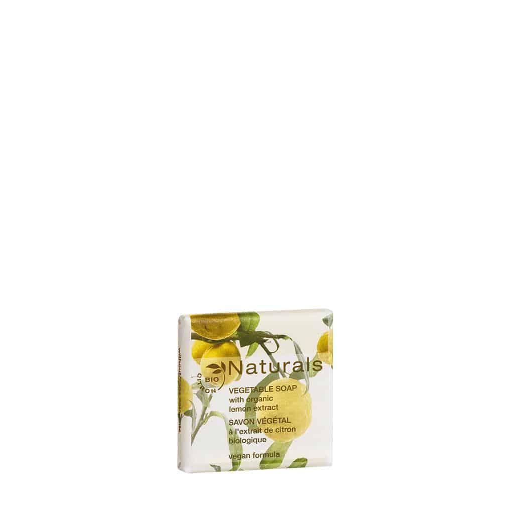 Naturals - Seife mit Bio-Zitronenextrakt, im Papierwickler, 15 g