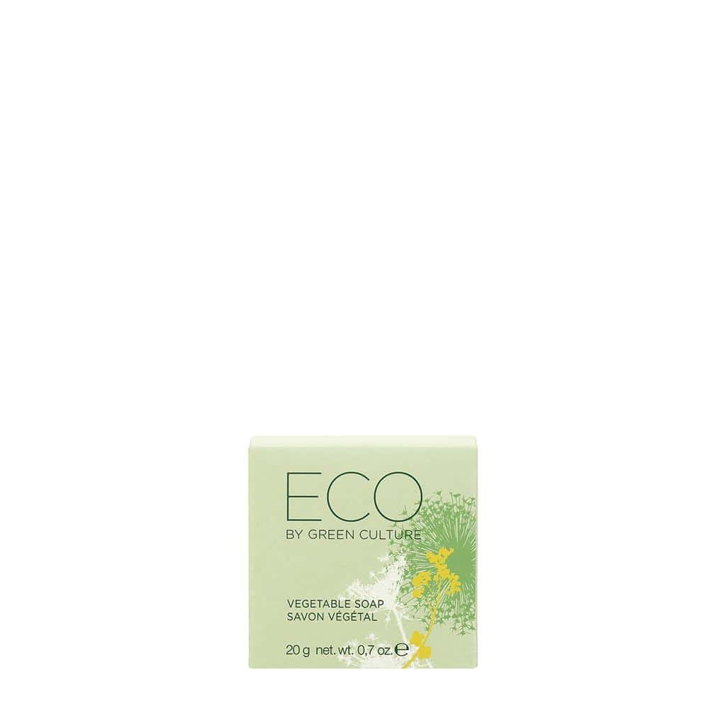 ECO by Green Culture - Solid Soap In Cardbox , Sustainable And Certified, 20 g