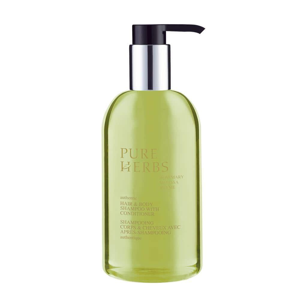 PURE HERBS - Haar- und Körperseife, 300 ml - Pumpspender