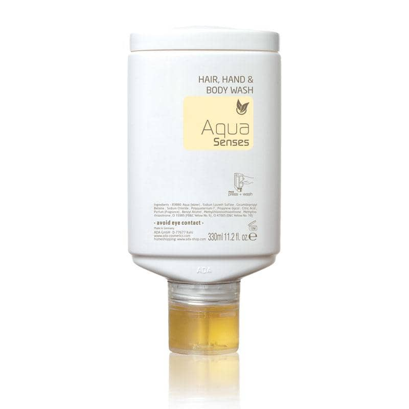 Aqua Senses - Hair And Body Shampoo, 330 ml - press + wash