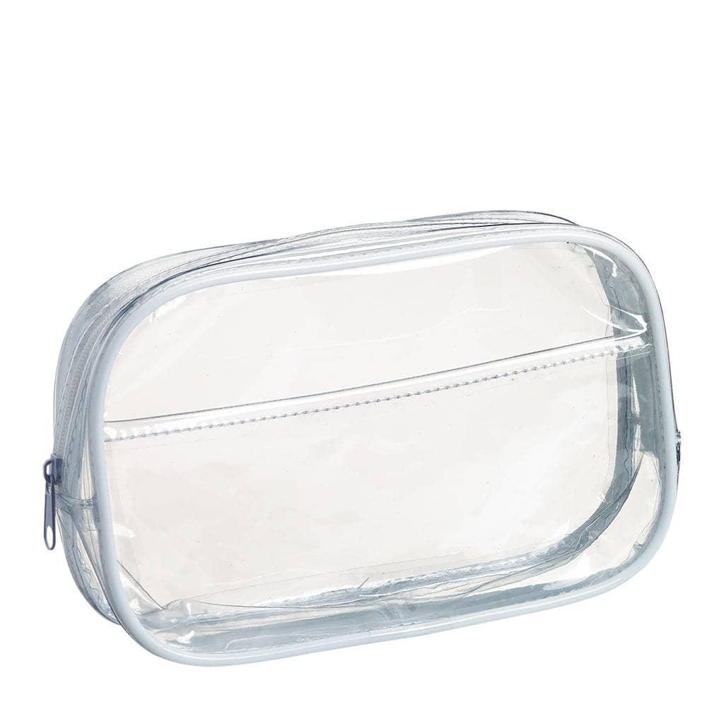 Kosmetiktasche, transparent (ohne Inhalt)