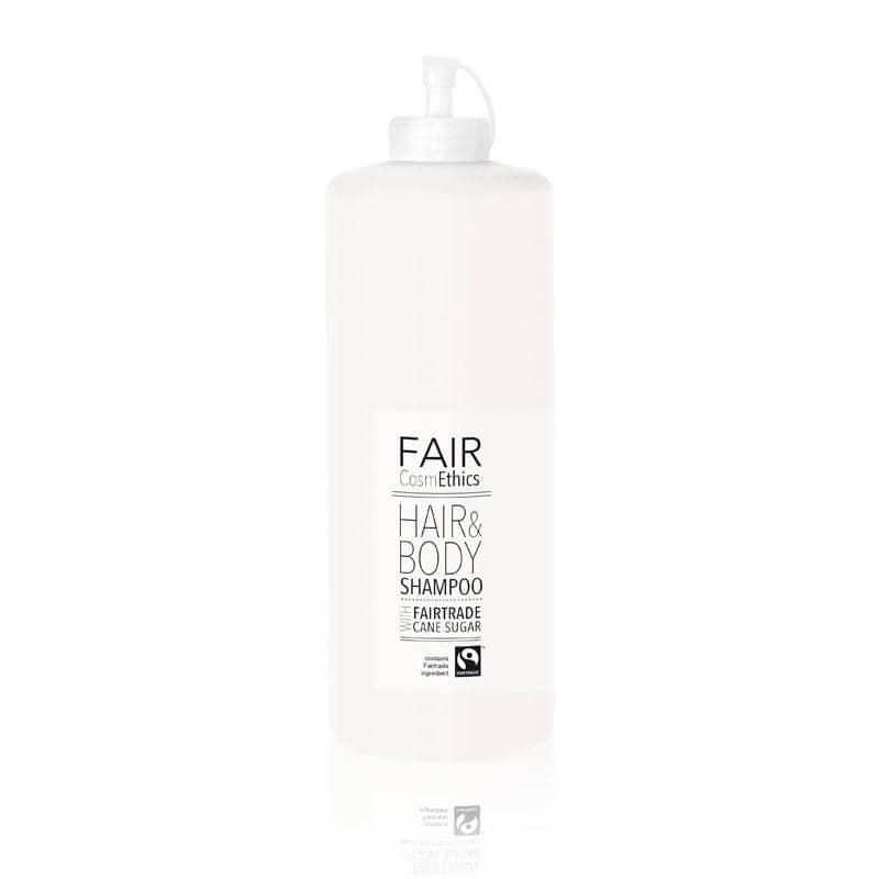 FAIR CosmEthics - Haar- und Körperseife, 1 Liter, Nachfüllpack