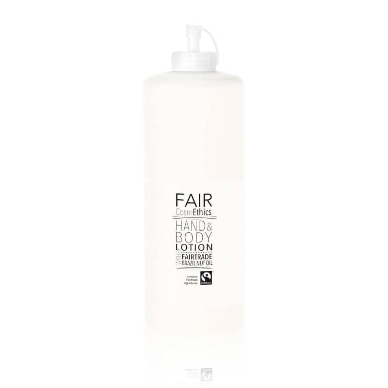 FAIR CosmEthics - Fairtrade Hand- und Bodylotion 1 Liter, Nachfüllpack