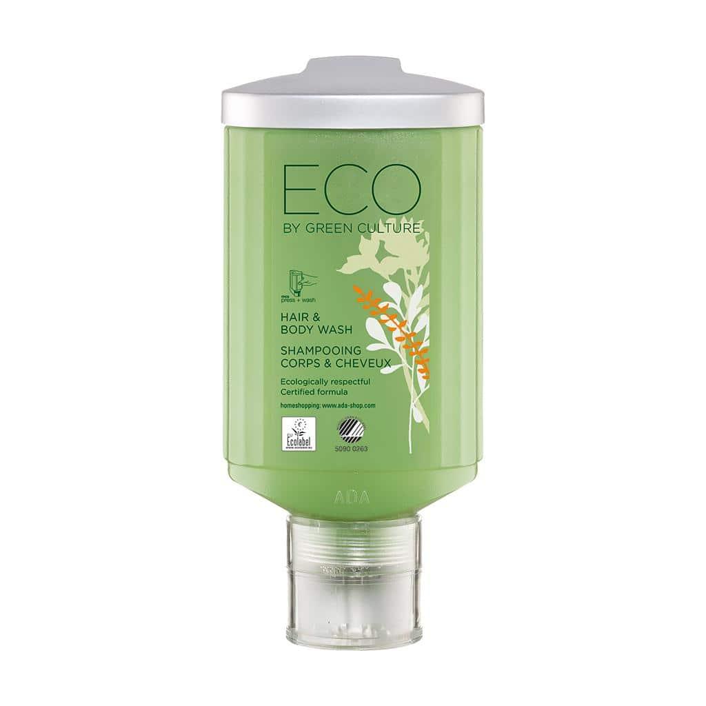 ECO by Green Culture - Hair & Body Shampoo, 300 ml - press + wash