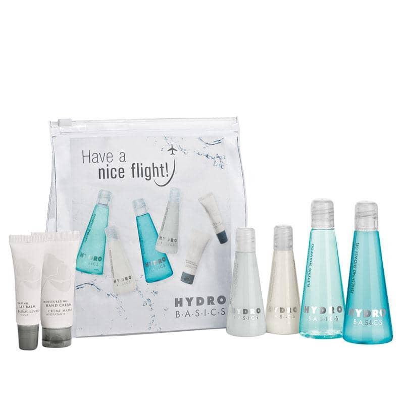 HYDRO BASICS - Kosmetiktasche mit Pflegeset (klein)