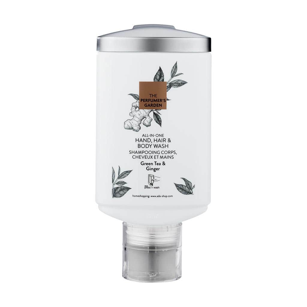 The Perfumers Garden - Hair And Body Shampoo, 330 ml - press + wash