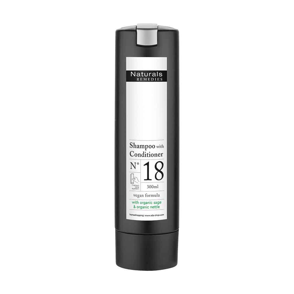 Naturals REMEDIES - Shampoo mit Conditioner, 300 ml - Smart Care
