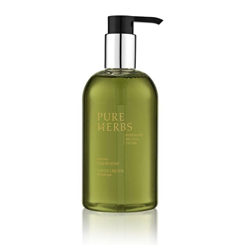 PURE HERBS - Aromatic Liquid Soap In Pump Dispenser, 300 ml