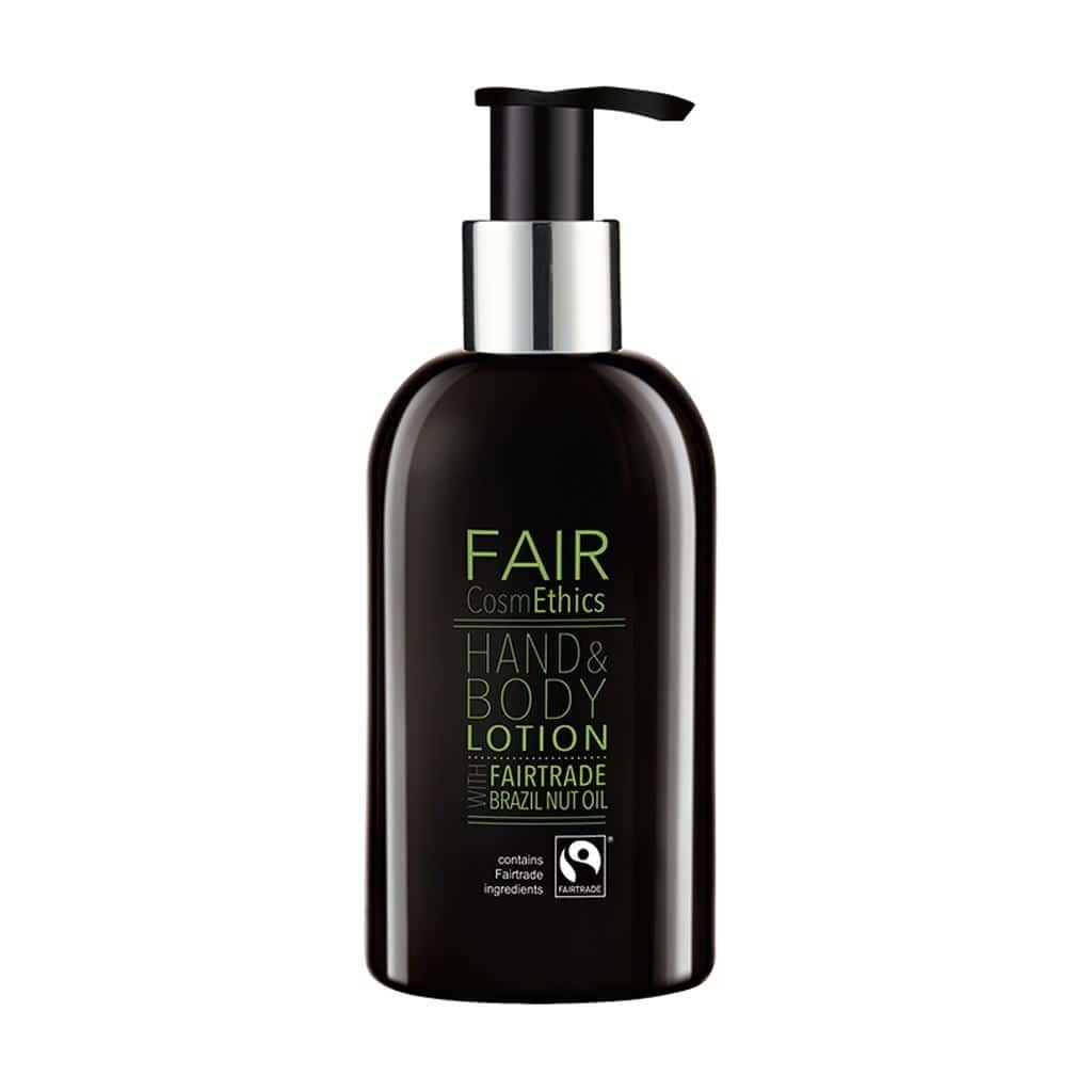 Fair CosmEthics  Fairtrade, Hand & Body Lotion, Pump Dispenser, 300ml