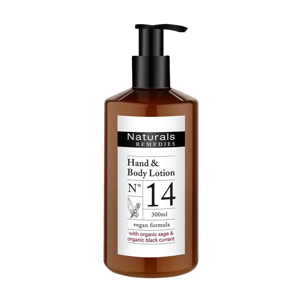 Naturals REMEDIES - Hand & Body Lotion, 300 ml